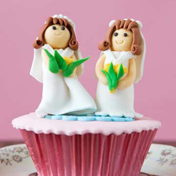 Gay Marriage Wedding Cake
